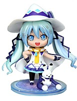 cheap -Anime Action Figures Inspired by Vocaloid Snow Miku CM Model Toys Doll Toy