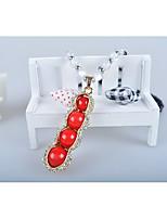 Women's Pendant Necklaces Pearl Alloy Pendant Necklaces , Fashion European Korean Gift Daily