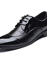 Men's Shoes PU Spring Fall Comfort Oxfords For Outdoor Black