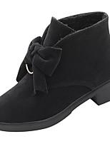 abordables -Mujer Zapatos Goma Invierno Botas de Combate Botas Dedo redondo Para Negro Amarillo Verde Ejército