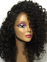 cheap -New Style Brazilian Human Hair Lace Front Wig with Bang Kinky Curly Style Lace Front Natural hair wigs with Baby Hair For Black Woman