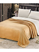 cheap -Super Soft,Manual Solid Polyester Blankets