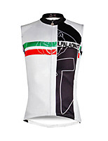 Cycling Jersey Men's Sleeveless Bike Vest/Gilet Tank Jersey Top Quick Dry Reduces Chafing YKK Zipper Sweat-Wicking Eco-friendly Polyester