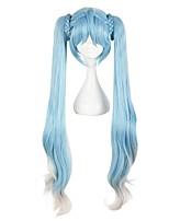 Parrucche Cosplay Cosplay Cosplay Anime Parrucche Cosplay 100 CM Tessuno resistente a calore Unisex