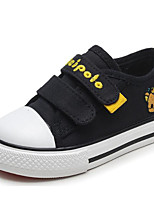 Boys' Shoes Canvas Spring Fall Comfort First Walkers Sneakers For Casual Red Dark Blue Black