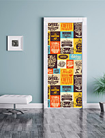 Mode 3D Stickers muraux Autocollants muraux 3D Autocollants muraux décoratifs,Vinyle Décoration d'intérieur Calque Mural For Mur