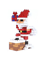 cheap -Building Blocks Toys Christmas Santa Suits Holiday People Santa Claus Kids Adults' 155 Pieces