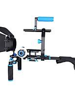 yelangu d206 professionnel épaule rig en alliage d'aluminium caméra support dslr rig mat boxfollow focusc en forme de soutien