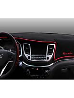 preiswerte -Automobil Armaturenbrett Matte Innenraummatten fürs Auto Für Hyundai 2015 2016 2017 Neue Tucson Karbon