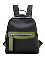 cheap -Women Bags Oxford Cloth Backpack Zipper for Casual All Season Green Black Blushing Pink