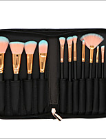 cheap -12 pcs Makeup Brush Set Synthetic Hair Full Coverage Wood Face