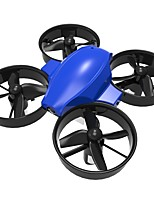 RC Dron DM107S 4 Canales 6 Ejes 2.4G Quadccótero de radiocontrol  Altura Iluminación LED Auto-Despegue Modo De Control Directo Vuelo