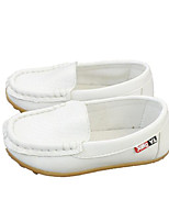 Boys' Shoes Leatherette Fall Winter Comfort Loafers & Slip-Ons For Casual Pink Yellow White