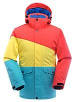 Herrn Skijacke Warm Wasserdicht Windundurchlässig Atmungsaktivität Leicht Skifahren Ski Winter Sport Baumwolle