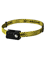 Nitecore Headlamps Headlight LED 360/220/40/1 lm 4 Mode XP-G2 Water Resistant / Water Proof Wearproof Light and Convenient for