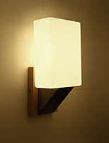 cheap -Wall Light Ambient Light Wall Sconces 60W 220V E14 Modern/Contemporary Wood