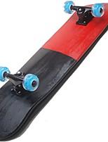 22 дюймы Стандартные скейтборды На каждый день Спортивный Пластик 4-Красный Однотонный