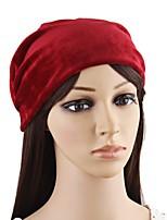 Для женщин На каждый день Широкополая шляпа,Осень Зима Фланель Однотонный