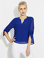 Women's Going out Daily Simple Summer Shirt