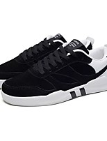 cheap -Men's Shoes Leatherette Spring Fall Light Soles Sneakers For Casual Black/White Gray Black