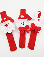 Holiday Props Christmas Party Supplies Toys Santa Suits Elk Snowman Holiday Sparkling Luminous Holiday Santa Suits Santa Claus Kids