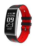 kimlink® s11hr intelligente braccialetto chiamata promemoria fitness tracker sleep monitor monitoraggio della frequenza cardiaca misura