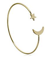 Femme Manchettes Bracelets Bracelet Décontracté Pierre Cuivre Forme Géométrique Bijoux Pour Plein Air Rendez-vous