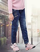 Pantalons Fille Jeans Coton Hiver