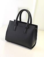 Women Bags PU Tote Zipper for Casual All Season Blue Black Beige Wine