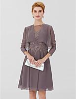 cheap -3/4 Length Sleeves Chiffon Wedding Party / Evening Women's Wrap Shrugs