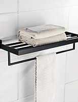 Bathroom Shelf Traditional/Vintage Stainless Steel 22 56 1 Bathroom Shelf Wall Mounted