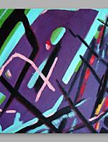 Dipinta a mano Astratto Modern Un Pannello Tela Hang-Dipinto ad olio For Decorazioni per la casa
