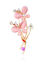 Women's Brooches Rhinestone Metallic Alloy Others Jewelry For Wedding Party