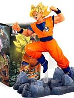 Figure Anime Azione Ispirato da Dragon Ball Goku 10 CM Giocattoli di modello Bambola giocattolo