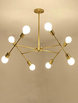 Rustic/Lodge Retro/Vintage Traditional/Classic Chandelier For Living Room Dining Room Study Room/Office AC 110-120 AC 220-240V Bulb Not