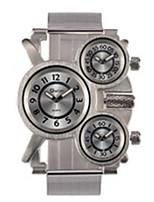 abordables -Homme Montre Bracelet Quartz Etanche Thermomètre Boussole Alliage de métal Bande Décontracté