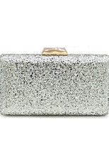 cheap -Women Bags PU Evening Bag Sequins for Wedding Event/Party All Season Black Silver Dark Grey