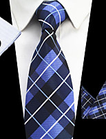 cheap -Men's Polyester Neck Tie,Striped Striped All Seasons