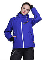 Phibee Ski Jacket with Pants Women's Ski & Snowboard Warm Waterproof Windproof Wearable Breathability Anti-static Polyester Clothing Suits