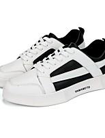 abordables -Homme Chaussures Polyuréthane Printemps Eté Semelles Légères Confort Basket pour Athlétique De plein air Noir Noir/blanc