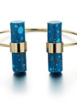 Femme Manchettes Bracelets simple Décontracté Basique Mode Cuivre Plaqué or Bijoux Pour Quotidien Rendez-vous