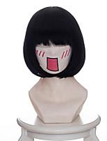 Parrucche Cosplay Hoozuki no Reitetsu Zashiki-warashi 1 Anime Parrucche Cosplay 35 CM Tessuno resistente a calore Donna