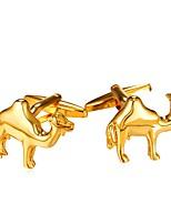 Недорогие -Запонка Галстук Заколка для галстука Платиновое покрытие Позолота Животные Запонки Для вечеринок Муж.