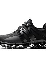 economico -Da uomo Scarpe Tulle Finta pelle Inverno Autunno Innovativo Sneakers Per Casual Nero Rosso Blu
