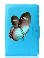 cheap -Universal Butterfly PU Leather Stand Cover Case For 7 Inch 8 Inch 9 Inch 10 Inch Tablet PC