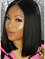Bob Straight Lace Front Wigs Brazilian Human Hair Wigs  Glueless Lace Front Wigs Virgin Hair Wigs with Baby Hair