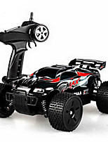 cheap -RC Car HQ-747 4 Channel 2.4G Off Road Car 1:18 Brush Electric 45 KM/H