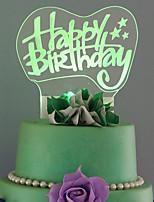Cake Topper Birthday Lolita Plastic Birthday  1 Gift Box