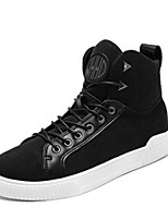 cheap -Men's Shoes Fabric Spring Fall Comfort Sneakers For Casual Khaki Black