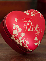 Heart Shape Metal Favor Holder 53 Pattern / Print Home Decroration-1pc